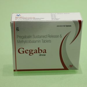 pregabalin and methylcobalamine: GEGABA