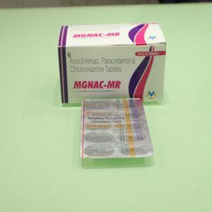 ACECLOFENAC:MGNAC-MR