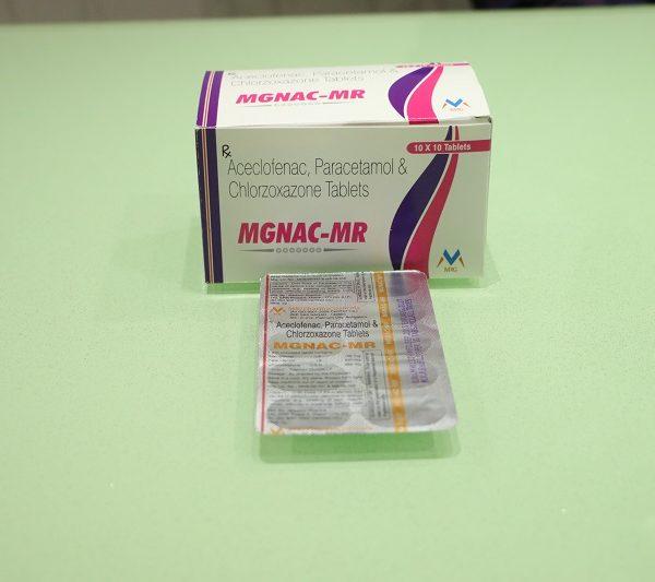 ACECLOFENAC:MGNAC-MR 1