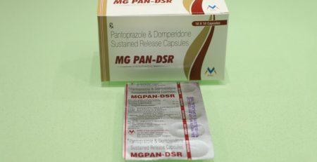 Pantoprazole and domperidone:MG PAN-DSR