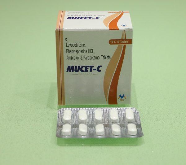 MUCET -C 1