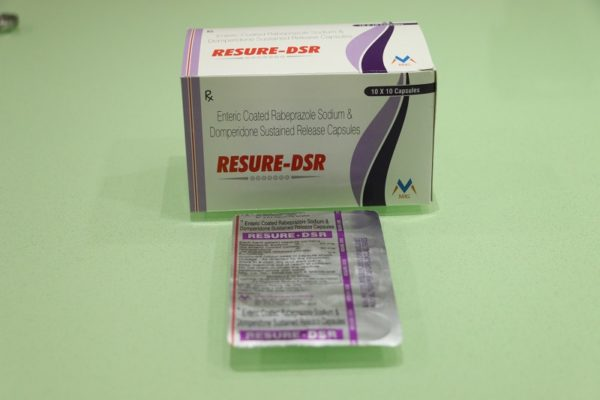 Rabeprazole and domperidone: RESURE-DSR 1